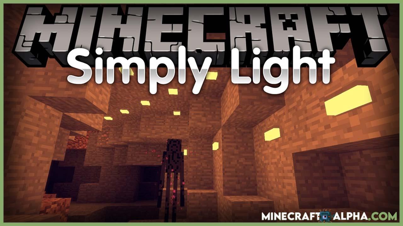 Minecraft Simply Light Mod 1.17.1 (New Decorative Light Furniture)