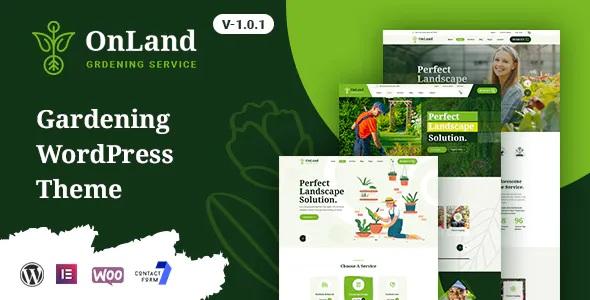 Best Gardening WordPress Theme