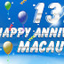 HAPPY ANNIVERSARY MACAUBET 13TH