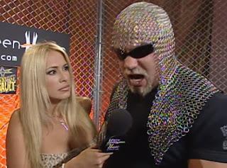 WCW Halloween Havoc 2000 - Pamela Paulshock interviews Scott Steiner