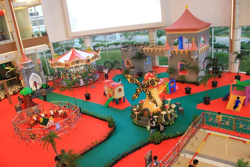 Tempat Bermain Anak di Summarecon Mall Bekasi