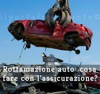 demolizione auto assicurazione