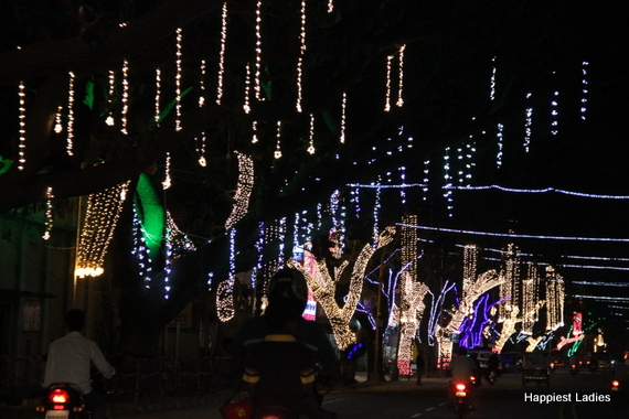 Mysore Dasara Street Lightings17