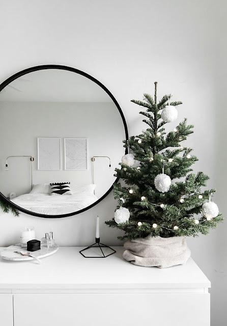 Ideias fáceis e baratas de decoração de natal simples