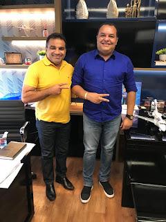 Prefeito Roberto do Posto se reúne com Deputado Federal Josimar Maranhãozinho