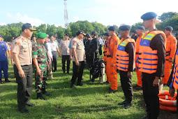 Kapolda NTB Pimpin Apel Gelar Pasukan Operasi Lilin Gatarin 2019