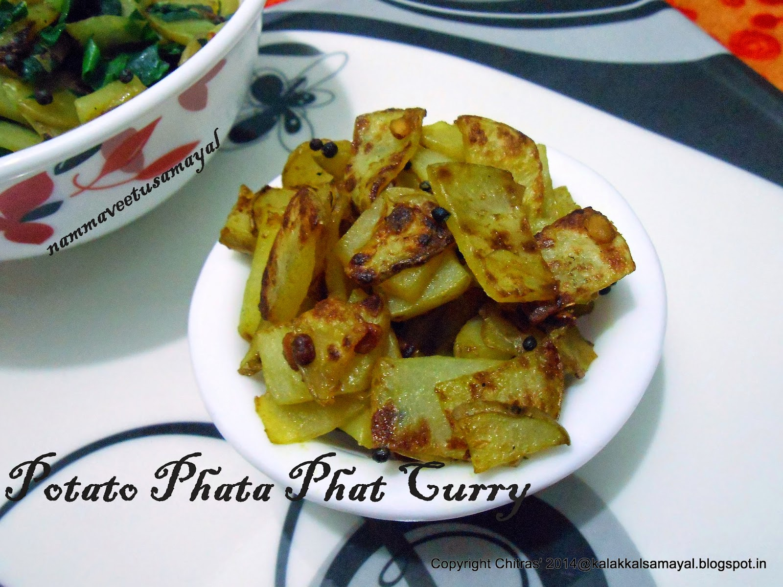 Potato Phata phat Curry