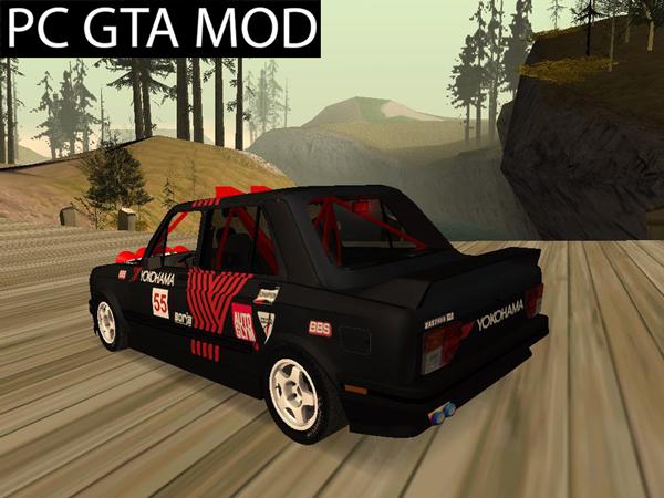 Free Download Zastava 128 Rally Mod for GTA San Andreas.