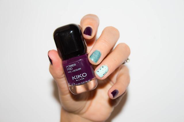 manucure-nailart-kiko-vert-claires