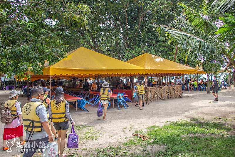【沙巴跳島推薦】沙比島 & 馬奴干島。拖曳傘、香蕉船水上活動初體驗
