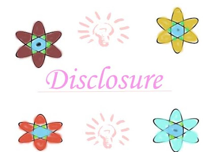 Blogger Update : Disclosure