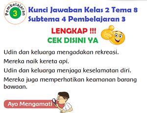 Kunci Jawaban Kelas 2 Tema 8 Subtema 4 Pembelajaran 3 www.simplenews.me