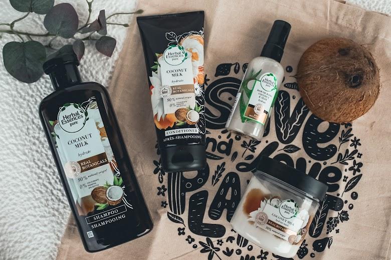 Îngrijirea părului cu produse Herbal Essences