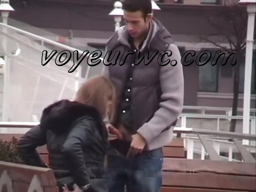 Day Watching 15 (Voyeur sex in public place young lovers romantic spot hidden camera)