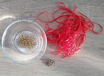 Adzik tworzy - bransoletka DIY makrama z łącznikiem