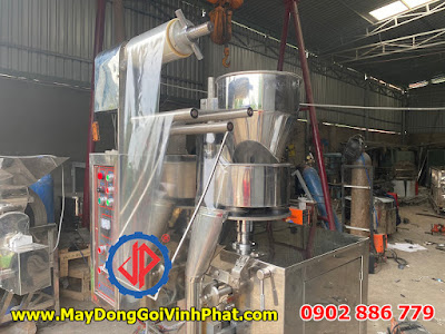 Sản xuất máy đóng gói cà phê hòa tan, cafe bột Vĩnh Phát giá rẻ