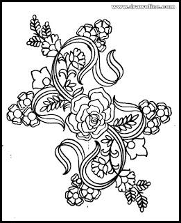 (awesome) hater kajer dress design pictures, jamar noksha design,জামার ডিজাইন আঁকা
