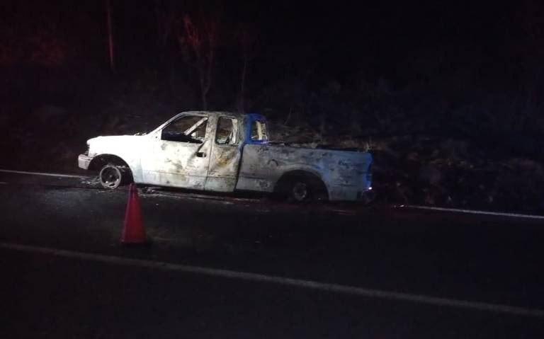 Localizan cuerpos de 5 personas ejecutadas y calcinadas en una camioneta en Ixtlahuacán del Río; Jalisco