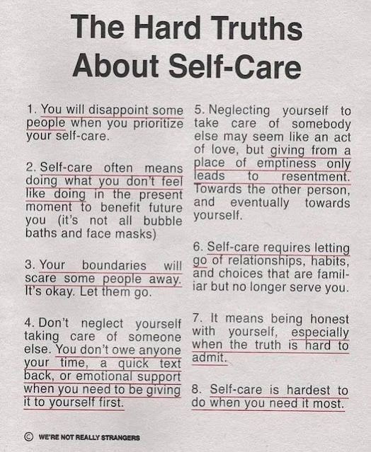 The Hard Truths About Self-Care