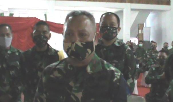 Brigjen TNI Djashar Djamil Tutup Resmi Latihan Posko I Kodim 1415 Selayar.