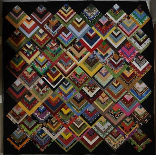 Half Log Cabin - Free Quilt Pattern