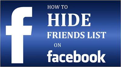 كيفية, إخفاء, قائمة, الأصدقاء, على, الفيسبوك
