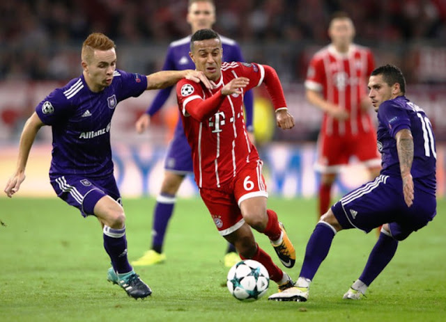 Prediksi Anderlecht vs Bayern Munchen Liga Champions