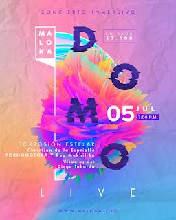 Vuelve recargada la franja 'Domo Live' al museo Maloka
