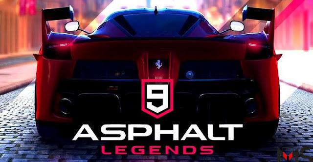 تحميل لعبة Asphalt 9: Legends مجانا للاندرويد