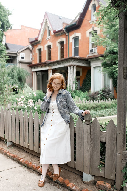 The Most Coveted Dress Of The Summer | The White Button Down Midi Dress | Roundup & Shopping Guide | labellesirene.ca