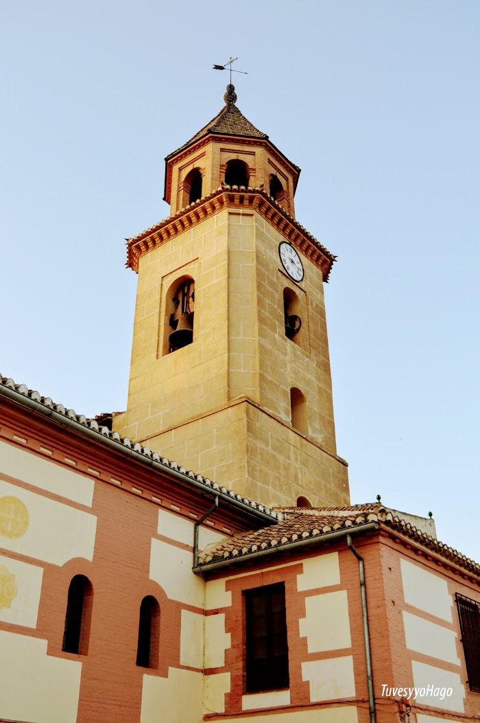 Iglesia de Santa Maria la mayor Padul - A una hora de Granada - TuvesyyoHago