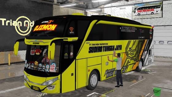 Livery Bussid STJ Djimon SHD Original