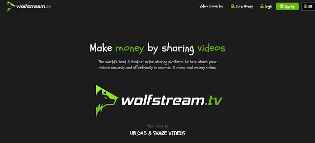 شرح موقع wolfstreamtv و كيفية الربح منه 40 دولار يوميا