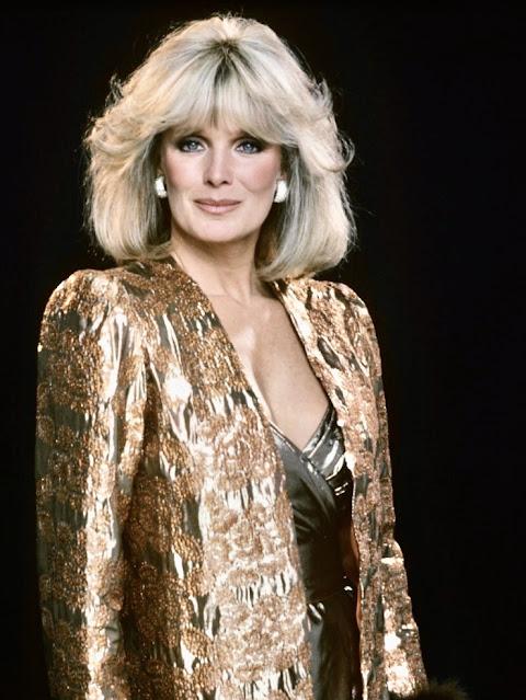 Dynasty 1980s glamorous gold fashion