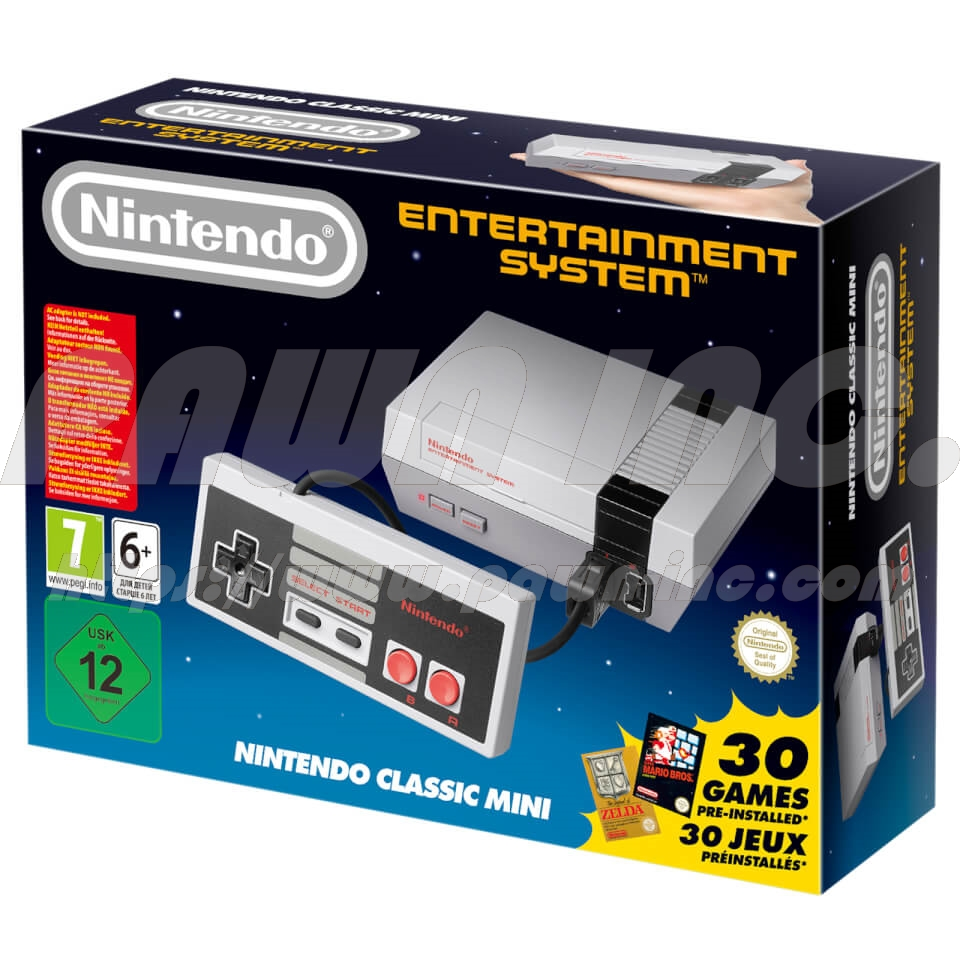 Nintendo Entertainment System: NES Classic Edition with Free Limited NES T-Shirt