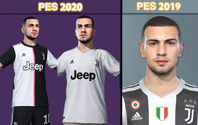 PES 2020 Merih Demiral Face by nanilincol44