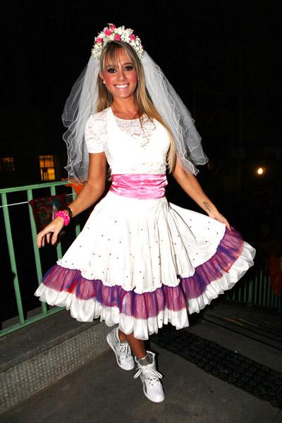 Fantasia Festa Junina, vestido noiva Juju Salimeni
