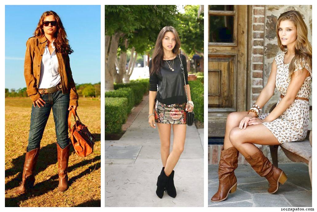 Botas Vaqueras u00a1Mu00e1s de 50 Ideas de Calzado con Fotos! | Zapatos Botas Botines y Sandalias ...