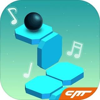 Dancing Ball world apk Music Tap Review
