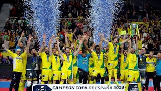 FÚTBOL SALA - Copa de España masculina 2018 (Madrid): El Jaén completa un sorprendente torneo y se lleva su 2ª Copa de la historia