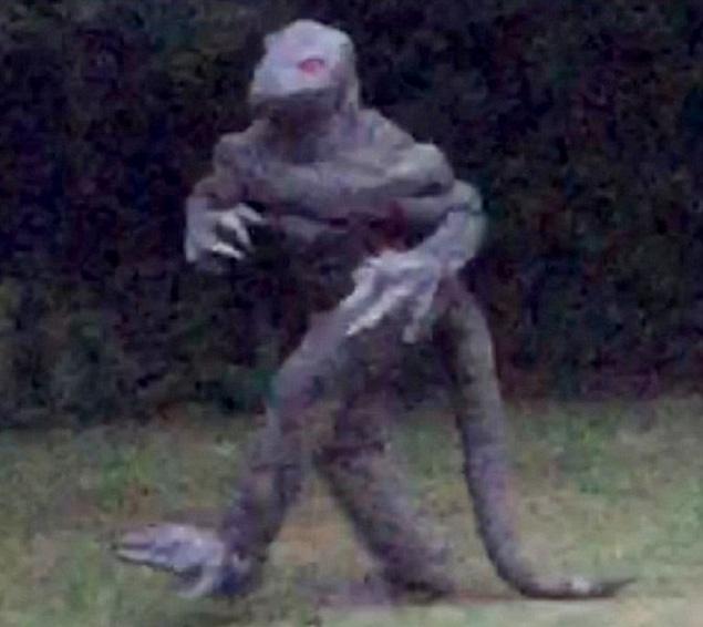 Những sinh vật huyền thoại từng xuất hiện và bị ghi hình lại trên thế giới
