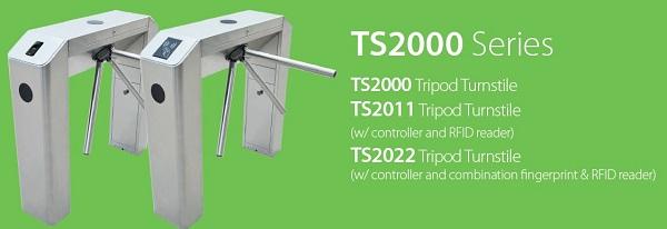 Tìm hiểu về thiết bị Tripod Turnstile ZKTeco TS2000