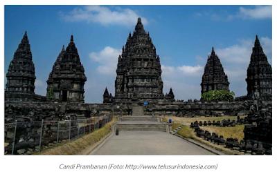 Candi Prambanan Tempat Sleman Yogyakarta
