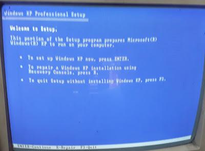 Install Windows Xp