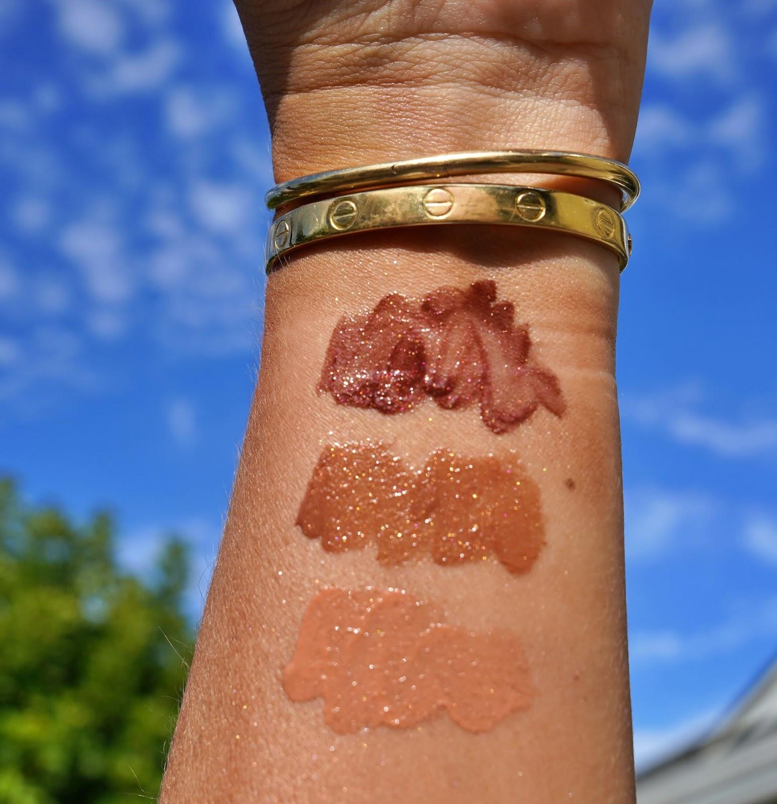 Natasha Denona bronze lip o phoria swatches