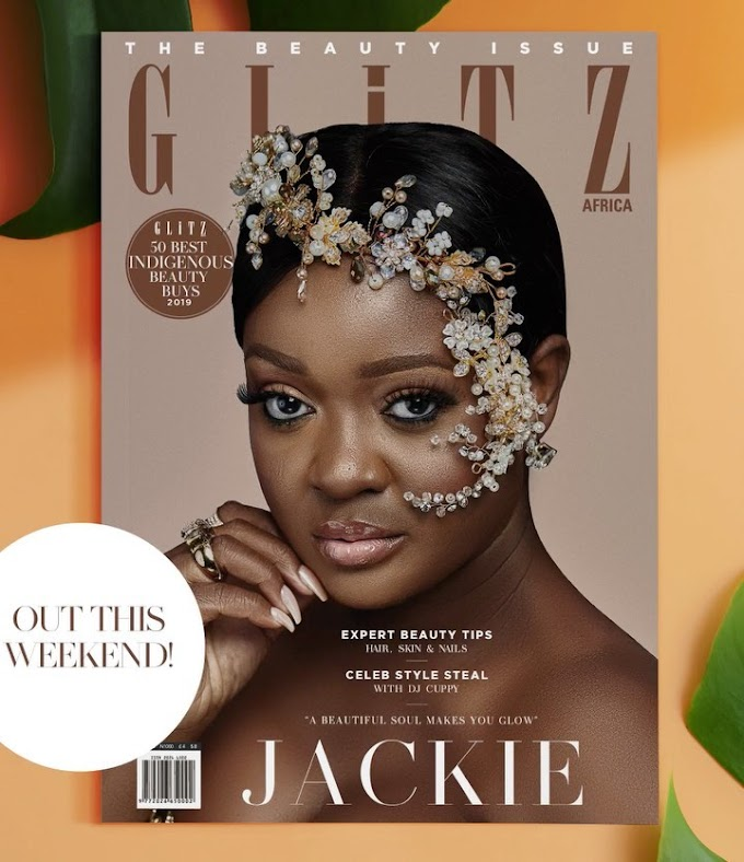 Jackie Appiah Graces Cover of Glitz Africa's First Beauty Issue