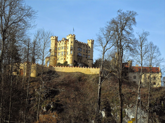 castillo Hohenschwangau de Baviera