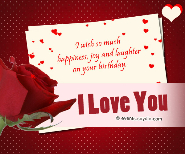 15 sweet romantic love birthday messages for him with love funny things to say in a birthday card for your boyfriend bookmarktalkfo Choice Image