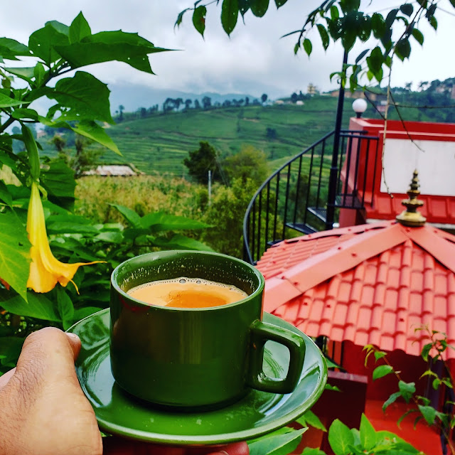 Morning Tea in Nagarkot