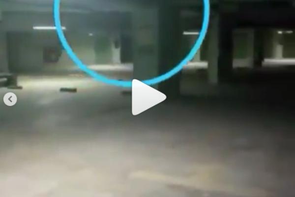 Video Satpam Rekam Penampakan Pocong dan Kuntilanak di Basement, Serem Banget!
